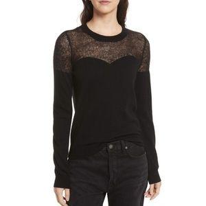 Rebecca Minkoff Clarence Sweater Black XS